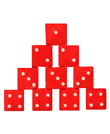 United Toys - Dice Set Red