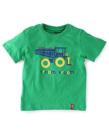 Oye Half Sleeves T-Shirt - Green