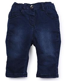 Ladybird Full Length Slim Fit Jeans & T-Shirt - Pink & Denim Blue