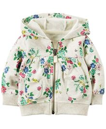Carter's Floral French Terry Cardigan