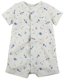 Carter's Snap-Up Printed Cotton Romper