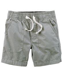 Carter's Pull-On Poplin Shorts