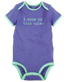 Carter's I Woke Up This Cute Bodysuit