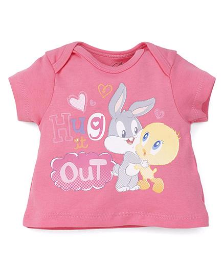 Looney Tunes Short Sleeves Top - Pink