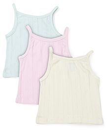 Snuggles Singlet Slips Multi Print Pack Of 3 - Green Pink Yellow