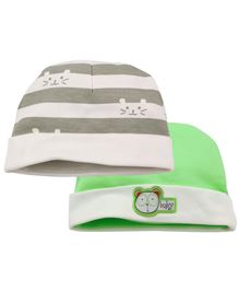 Babyoye Cap Pack of 2 - Multi Colour