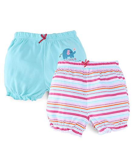 M&M Shorts Pack of 2 - Orange Blue