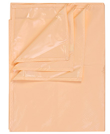 Tinycare Bed Protector Sheet Light Orange