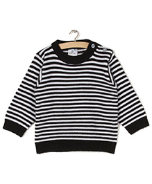 Zonko Style Striped Sweater - Black