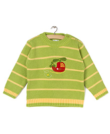 Zonko Style Knitted Sweater - Green