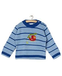 Zonko Style Knitted Sweater - Blue