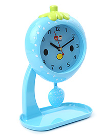 Strawberry Shaped Alarm Clock With Stand - Blue