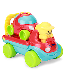 Tomy Funskool Fix And Load Tow Truck - Multicolor