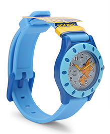 Q&Q Analog Wrist Watch - Sky Blue