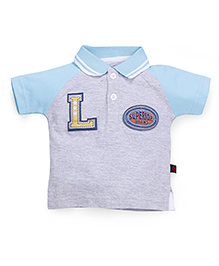 Ladybird Polo T-Shirt - Grey Blue