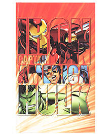 Hulk Heroes Printed Single Line Notebook - 192 Pages