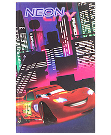 Disney Pixar Car Single Line Notebook - 192 Pages