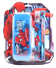 Spider Man Stationary Set - Red And Blue