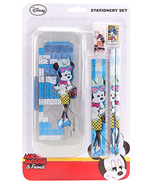 Mickey Mouse Print Stationary Set - Multi color