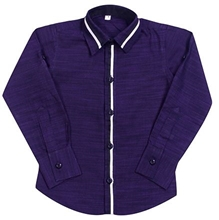 Jonez Party Wear Causal Shirt - Purple
