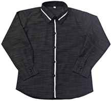 Jonez Party Wear Causal Shirt - Black