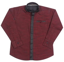 U/P-(Size-8) (Maroon)Party wear casul shirt