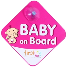 Baby on Board Magenta