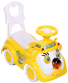 Yellow and White 18 Months +, All Over 55 x 26.5 x 46.5 cm, A fantastic vehicle for your...