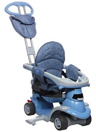 Smart Trike - All In One Step 3 Tricycle  Blue