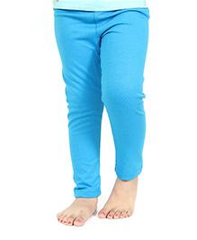 Nahshonbaby Girls Legging - Blue