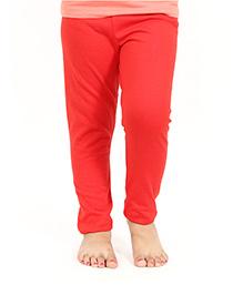 Nahshonbaby Girls Legging - Red