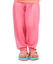 Nahshonbaby Girls Harem Pants - Pink