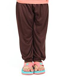 Nahshonbaby Girls Harem Pants - Brown