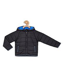 612 League Sleeveless Hooded Jacket - Black