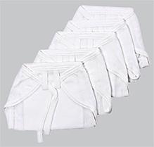 Tinycare  Cloth Baby Nappy Small - Set Of 5