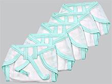 Tinycare Baby Cloth Nappy Comfy Junior New Born - Set of 5