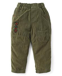 Olio Kids Full Length Corduroy Pant - Black