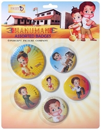 Hanuman - Badge Assorted