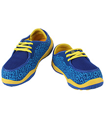 Myau Lace Tie Up Shoes - Blue