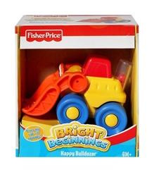 Fisher-Price - Bright Beginnings - Happy Bulldozer