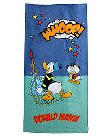 Disney Donald Mania Printed Bath Towel - Multicolor