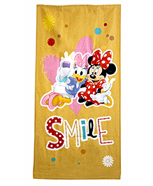 Disney Daisy And Minnie Printed Bath Towel - Multicolor