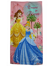 Disney Princess Printed Bath Towel - Multicolor