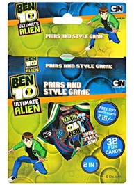 Sticker Bazaar - Ben 10  Ultimate Alien Card Game