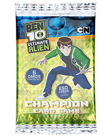 Sticker Bazaar Ben 10 Ultimate Alien - Champion Card Game