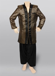 Exclusive Golden Coat Suit