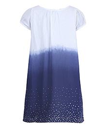 Miyo Twin Colored Dress - Blue