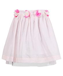 Miyo Attractive Cotton Skirt - Pink