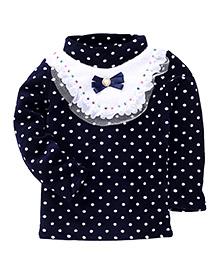 Superfie Polka Dot Print Dress - Blue