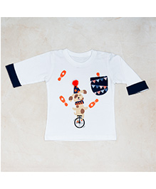 Plan B Circus Print T-Shirt - White